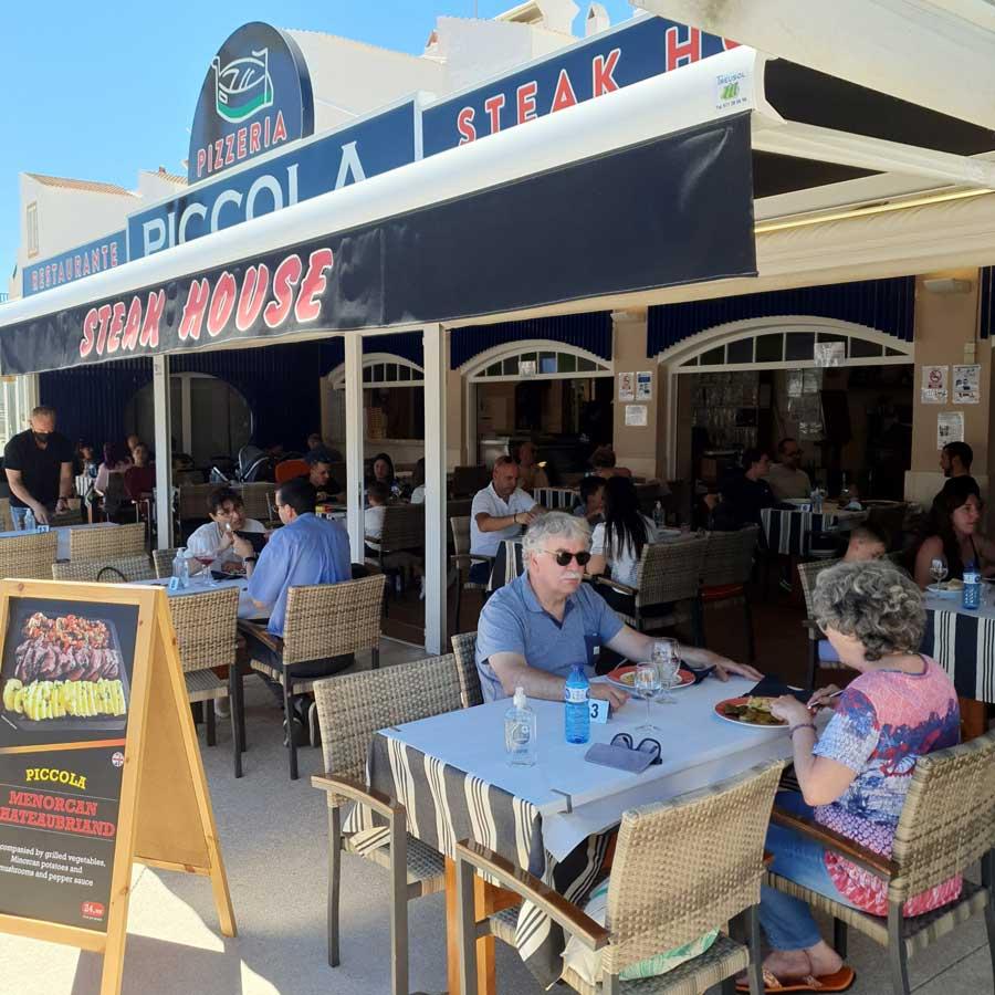 Pizzeria-Restaurante en Cala'n Bosch